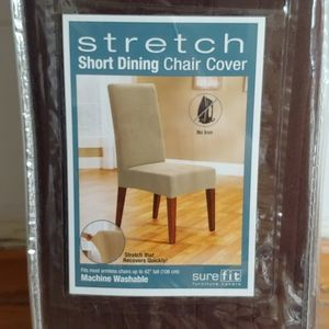 Surefire Stretch Short Dining Chair Slipcovers
